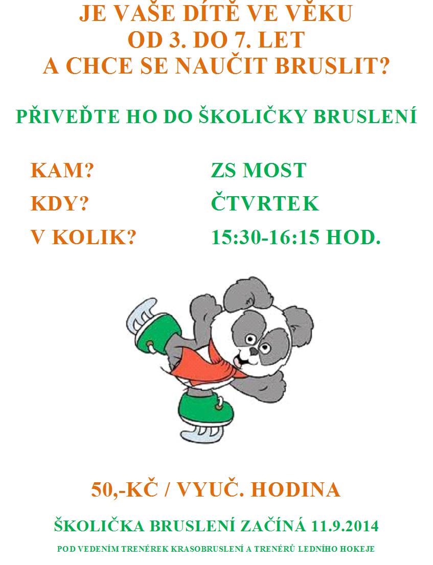 Leták - školička